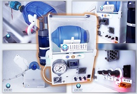 Ventilator Ambu-Bag Airgency ITB Lolos Uji BPFK