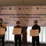 Bersama Pupuk Kujang dan ITB, Pertamina Bentuk PT Katalis Sinergi Indonesia